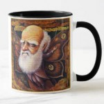 Darwin mug by Leah Palmer Preiss