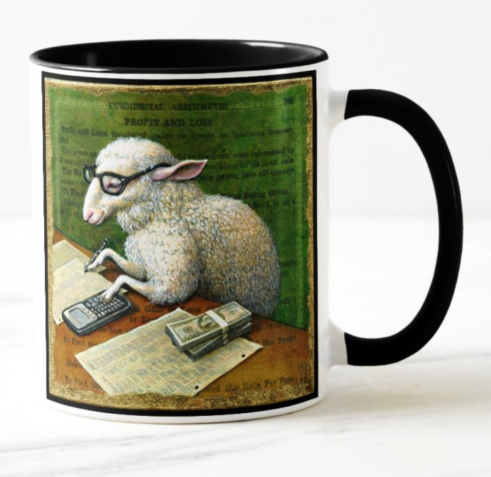 Counting Sheep Mug